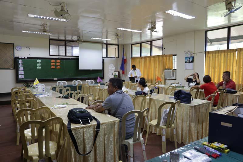 trainings halls